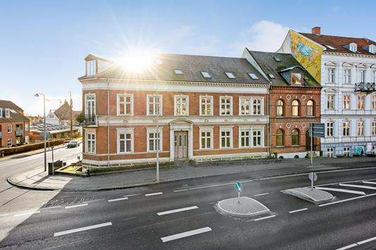 Ejerlejlighed på Amaliegade i Horsens - Ejendommen