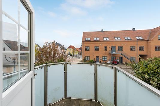 Villa på Odelsgade i Juelsminde - Altan