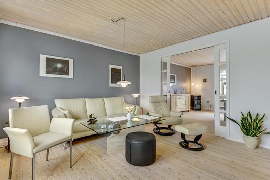 Villa på Danmarksgade i Horsens - Opholdsstue