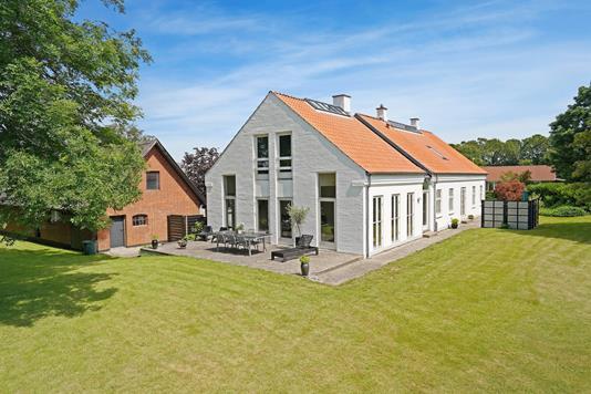 Villa på Overholm i Horsens - Facade