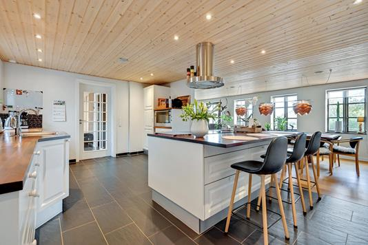 Villa på Storegade i Østbirk - Køkken