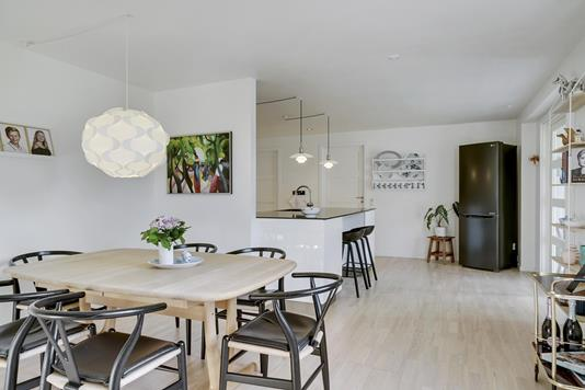 Villa på Lupinvej i Horsens - Stue