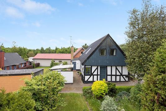 Villa på Haldrup Skovvej i Horsens - Ejendommen