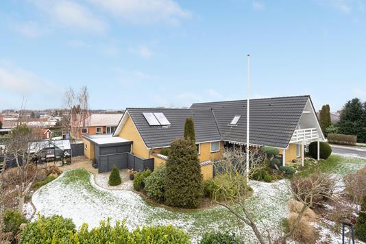 Villa på Hovmarksvej i Horsens - Ejendommen
