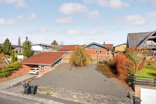 Villa på Vedbæksalle i Horsens - Ejendommen