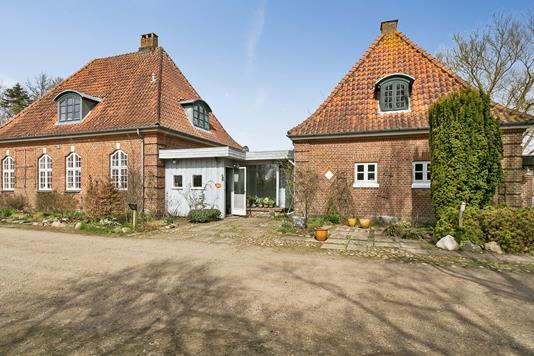 Villa på Drenderupvej i Vamdrup - Set fra vejen