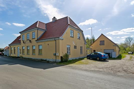 Villa på Mejerivej i Vamdrup - Set fra vejen
