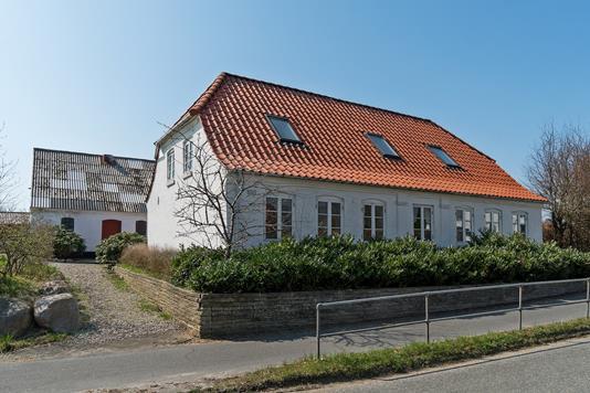 Villa på Eltangvej i Kolding - Set fra vejen