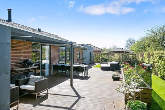 Villa på Solsikkehaven i Kolding - Terrasse