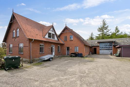 Villa på Søndergyden i Vamdrup - Set fra vejen