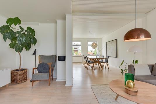 Villa på Gøhlmannsvej i Kolding - Stue