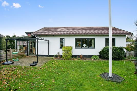 Villa på Bekkasinvej i Viborg - Set fra haven