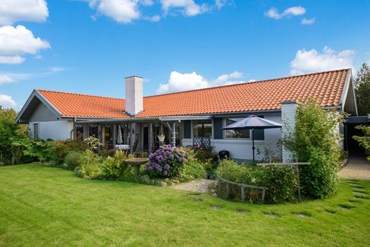 Villa på Harehøjen i Viborg - Have
