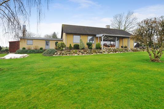 Villa på Sønderballe Hoved i Haderslev - Have