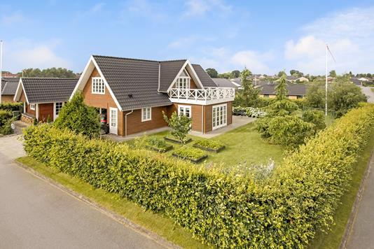 Villa på Langelandsvej i Haderslev - Mastefoto