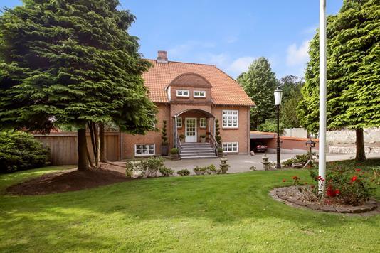Villa på Ribe Landevej i Haderslev - Ejendommen