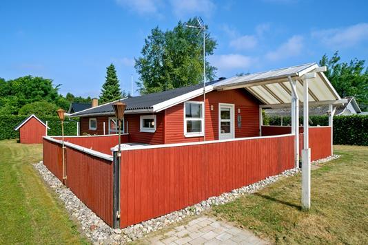 Fritidsbolig på Diernæs Strandby i Haderslev - Set fra haven