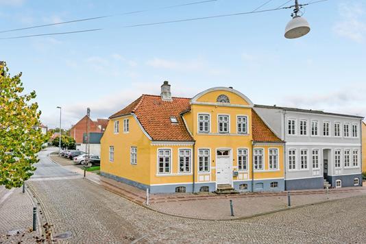 Villa på Slagtergade i Haderslev - Facade