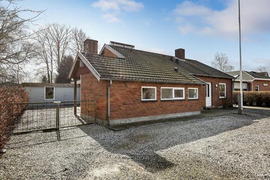Villa på Vilstrup Bysving i Haderslev - Ejendommen