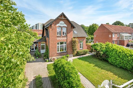 Villa på Aastrupvej i Haderslev - Ejendommen