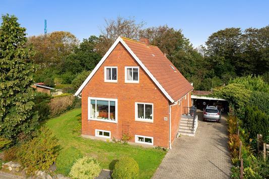 Villa på Mulvadvej i Bramming - Set fra vejen