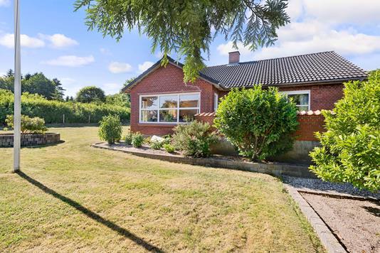 Villa på Hammelvej i Gjern - Facade
