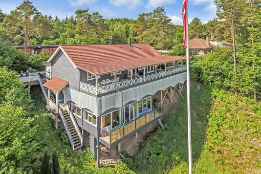 Villa på Thorsøhøjen i Silkeborg - Beliggenhed