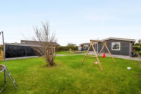 Villa på Platanvej i Thisted - Have
