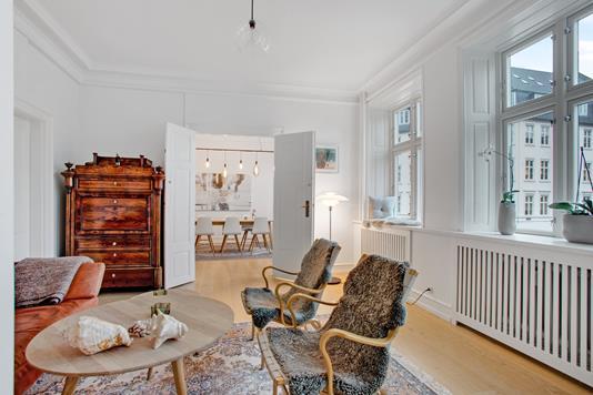 Ejerlejlighed på Kultorvet i København K - Stue