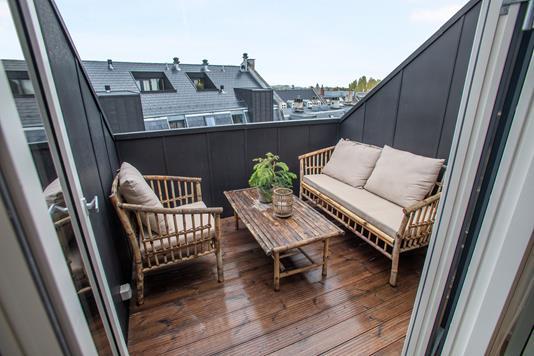 Ejerlejlighed på Hørsholmsgade i København N - Altan