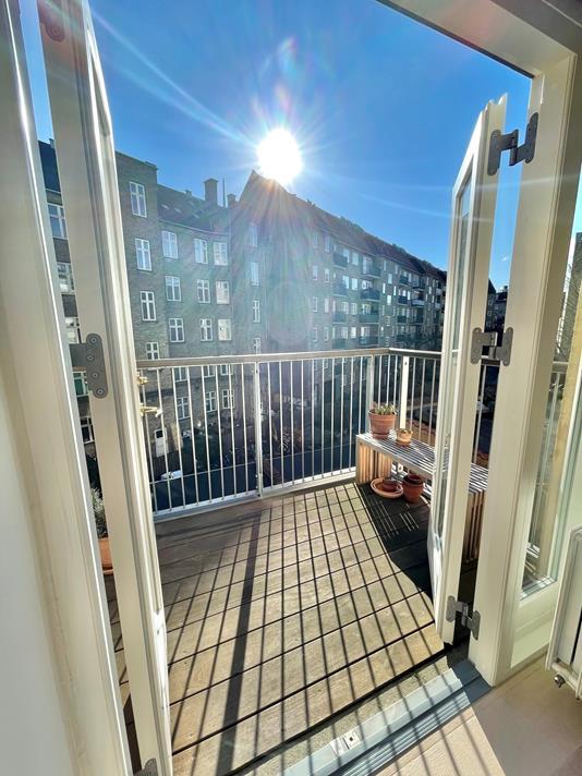 Ejerlejlighed på Lundsgade i København Ø - Altan