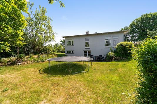 Villa på Montebello Alle i Helsingør - Set fra haven
