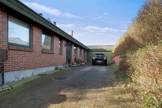 Villa på Svejager i Vejby - Indkørsel