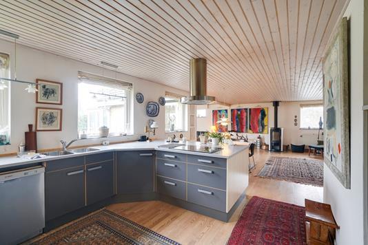 Villa på Apperupvej i Ålsgårde - Køkken