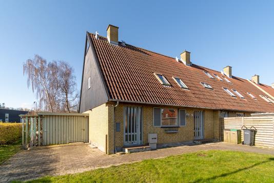 Villa på Ellekildehavevej i Ålsgårde - Set fra haven