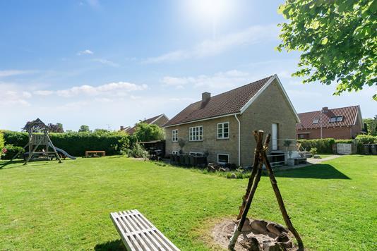 Villa på Brorsonsvej i Helsingør - Set fra haven