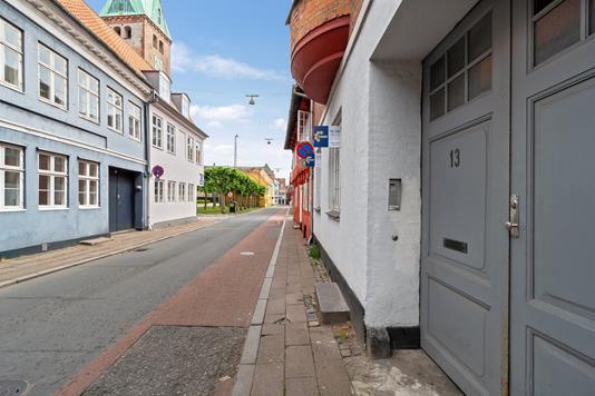Ejerlejlighed på Sct Anna Gade i Helsingør - Udendørs