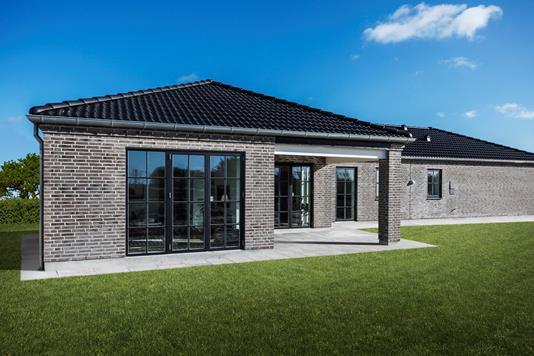 Villa på Brovangsvej i Ålsgårde - Bagfacade