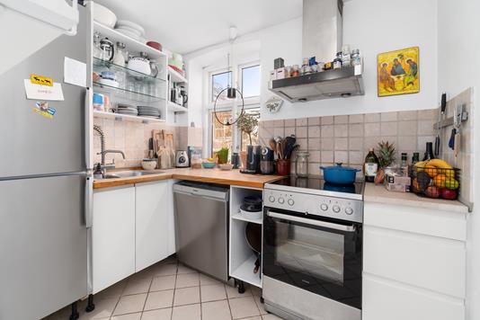 Ejerlejlighed på Stenvinkelsvej i Helsingør - Køkken