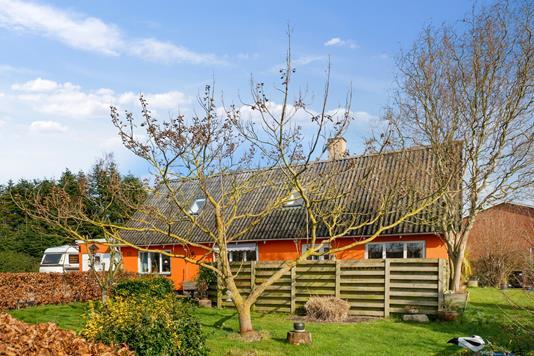 Villa på Kæret i Bogense - Set fra haven