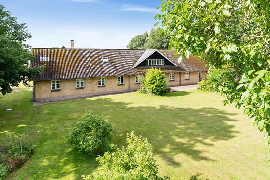 Villa på Fremmelev i Otterup - Set fra haven