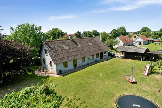 Villa på Skærvej i Bogense - Set fra haven