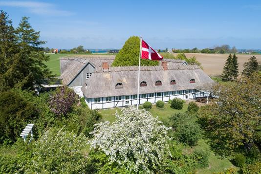 Villa på Lyngbyvej i Stubbekøbing - Set fra haven