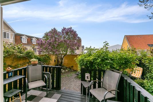 Ejerlejlighed på Frisegade i Nykøbing F - Altan