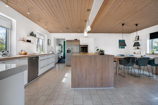 Villa på Bavnevej i Randers NØ - Køkken