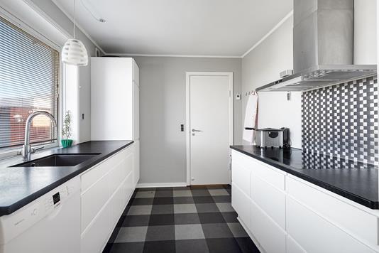 Villa på Yrsavej i Randers NV - Køkken
