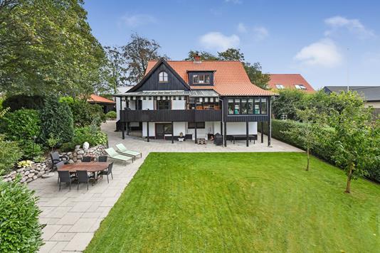 Villa på Gørtlervej i Randers NV - Terrasse