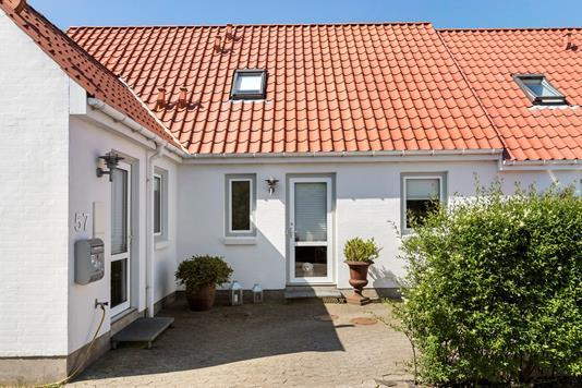 Villa på Markskellet i Randers NV - Ejendommen