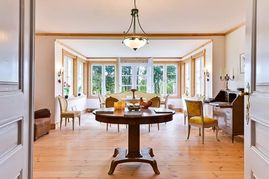 Villa på Tinghøjvej i Tjele - Stue
