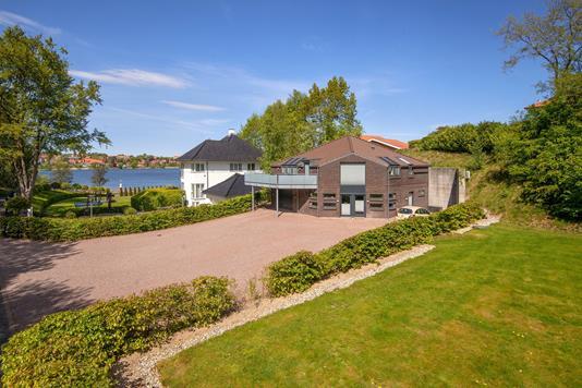 Villa på Nørresøvej i Viborg - Mastefoto